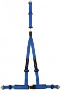 "Supersport 4 x 3 Detachable Tail Strap - 2"" Shoulder & 2"" Lap"