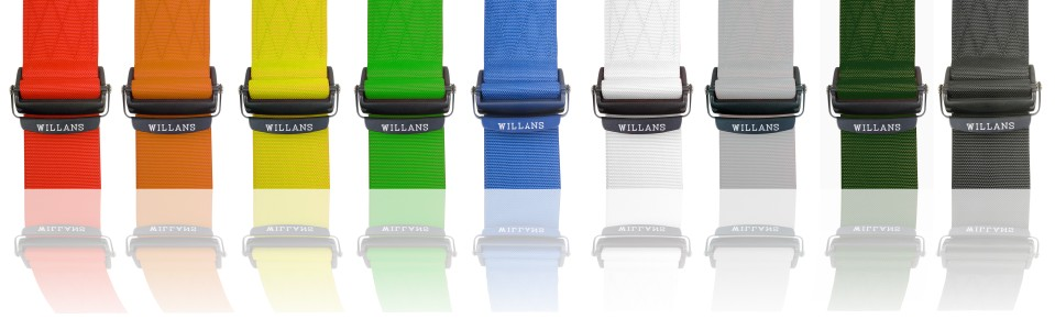 Colour Range of Webbing